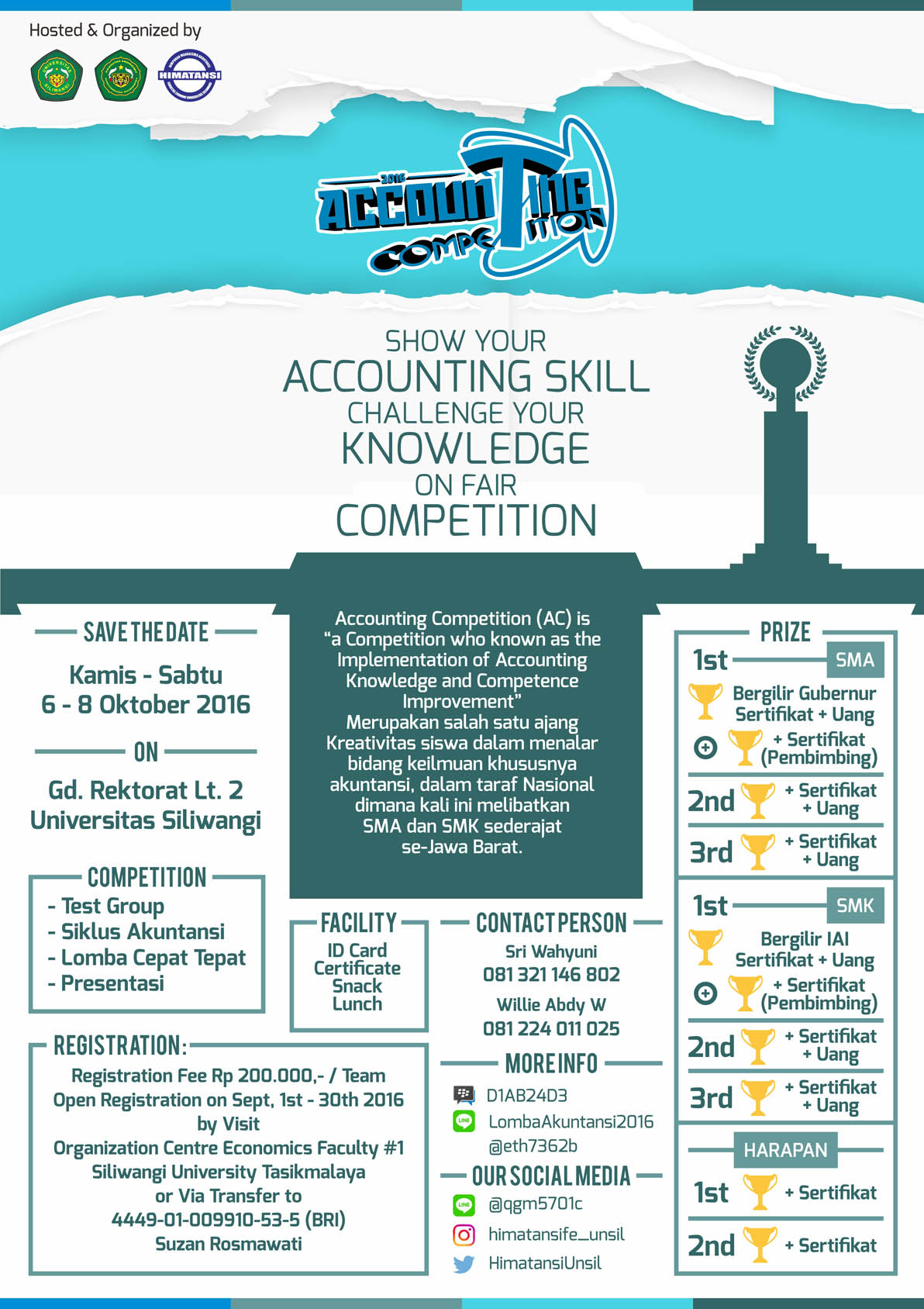 ACCOUNTING COMPETITION 2016