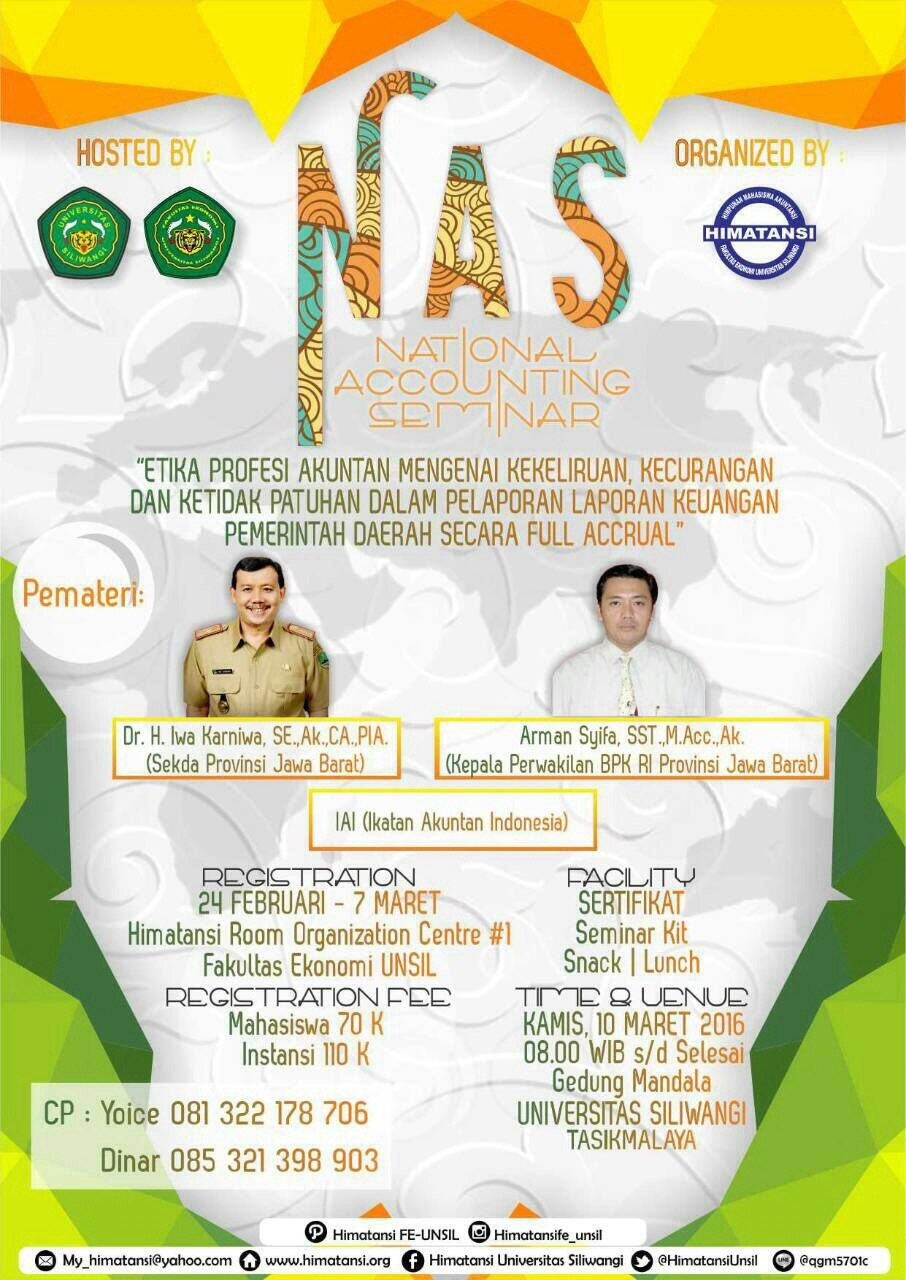 National Accounting Seminar 2016