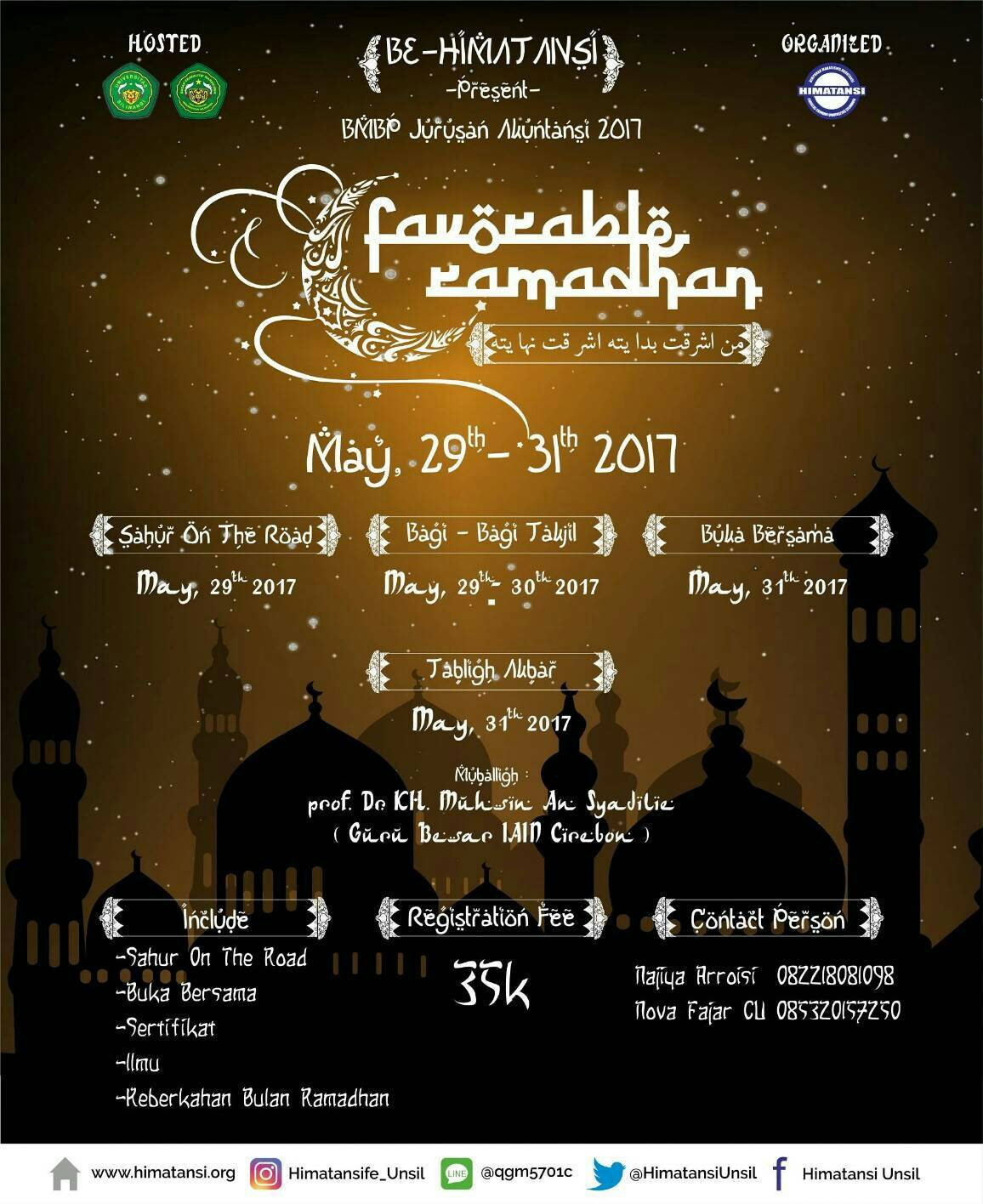 FAVORABLE RAMADHAN 2017