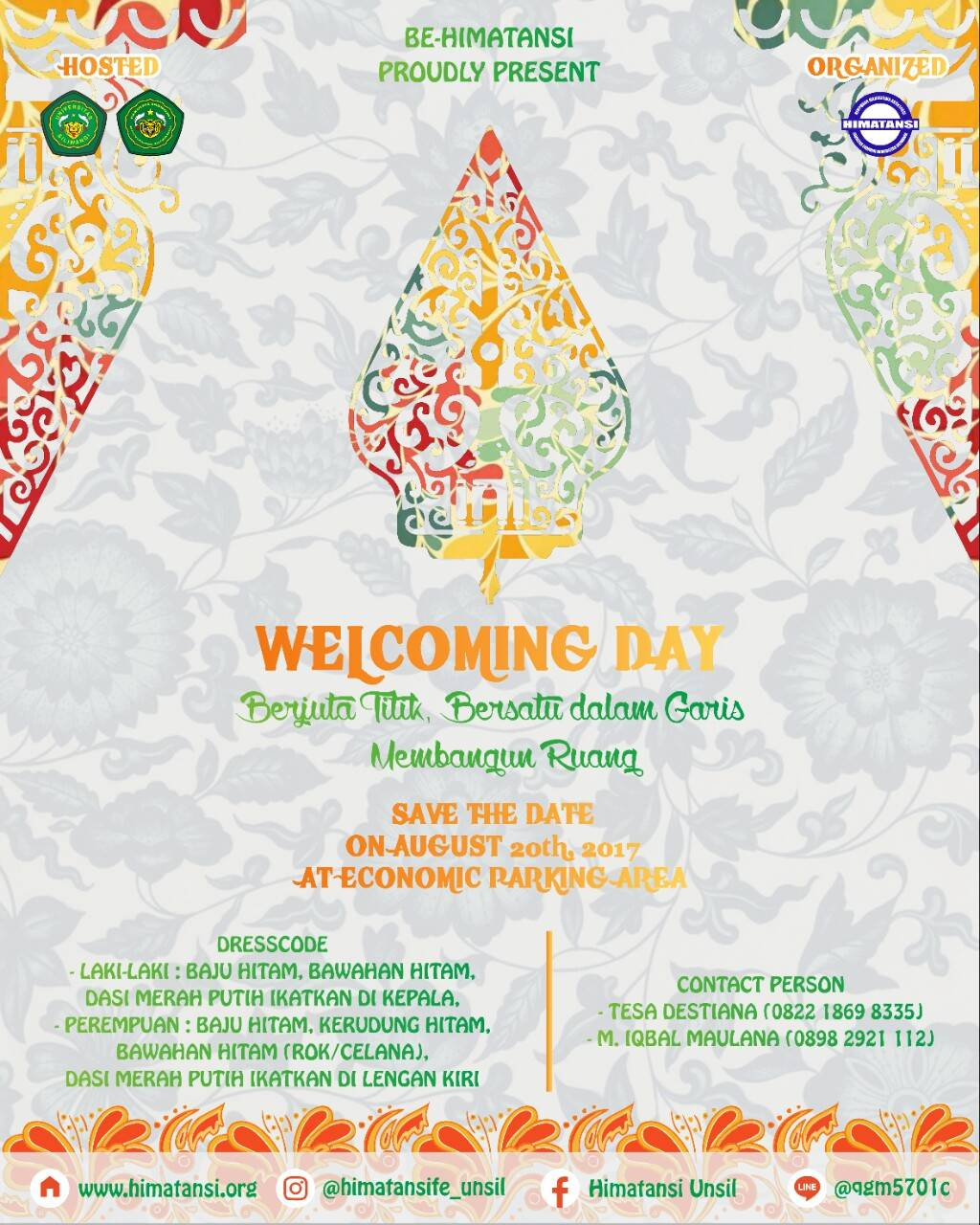 WELCOMING DAY 2017